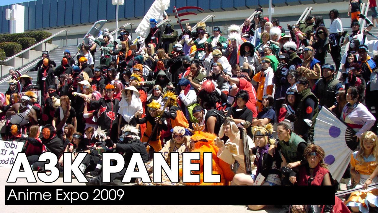 Anime Expo 2009 – A3K Panel