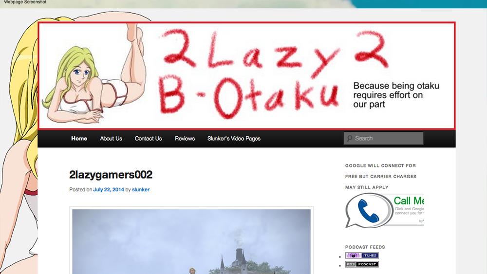 2lazy2botaku – Blog and Podcast