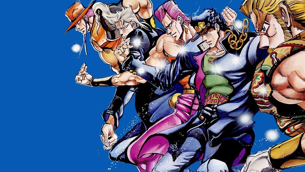 JoJo's Bizarre Adventure – Manga Corner