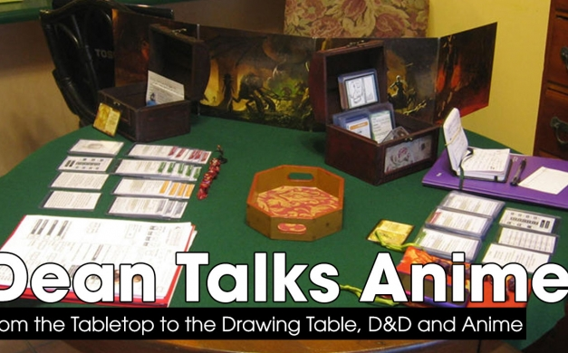 From Tabletop to Drawing Table, D&D and Anime