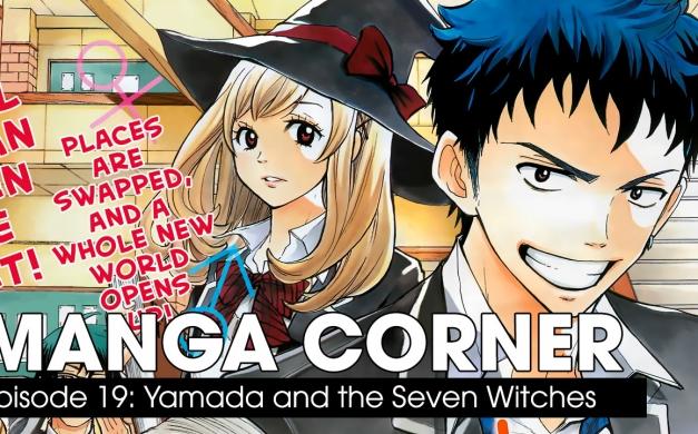 Yamada and the Seven Witches – Manga Corner