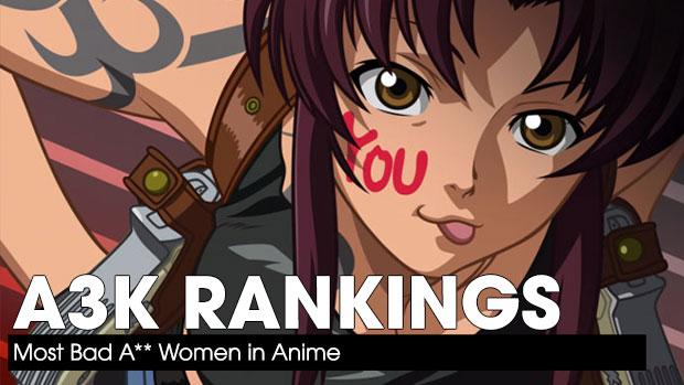 Bad Ass Women in Anime