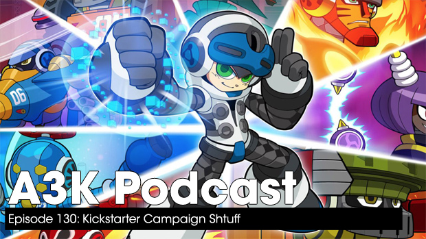 Kickstarter Campaign Shtuff – A3K Podcast