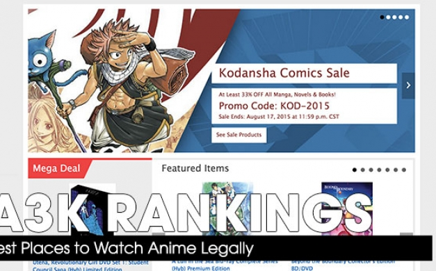 Best Places to Watch Anime Legally
