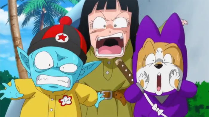 Pilaf and Crew